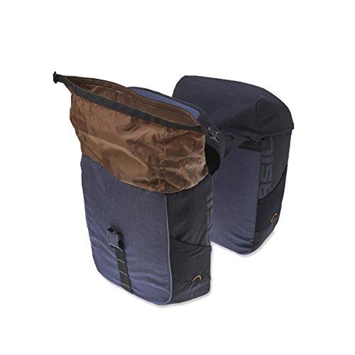 Basil Miles Double Bag Tasche, schwarz, 32 Litre