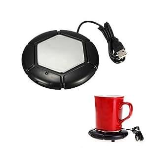 CAMTOA Chauffe-Tasse USB de Tasse Mug Pour Thé Café Rechauffeur Plateau Pad Pour Bureau Maison