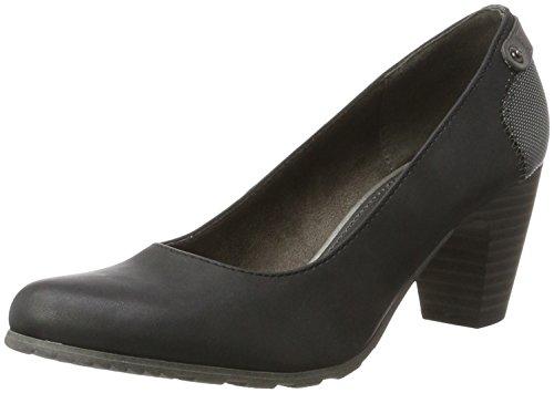 s.Oliver 22404, Escarpins Femme Noir (Black)