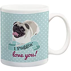 Taza I Love you Puggin CARLINO