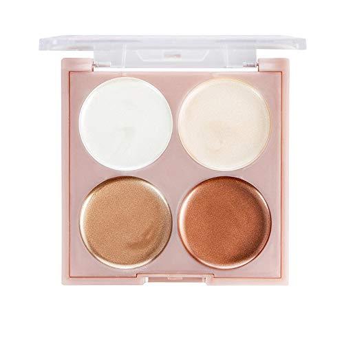 Highlight Femme,ITISME Surligneur Maquillage Correcteur Shimmer Face Glow Surligneur Liquide Cosmétique