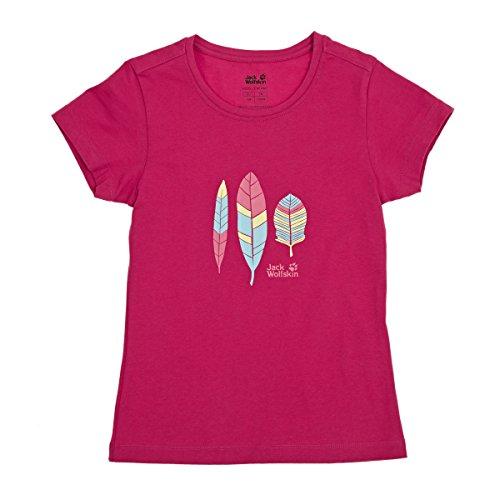 Jack Wolfskin - Foliage OC T-shirt outdoor pour enfants (rose) - 92 Rose