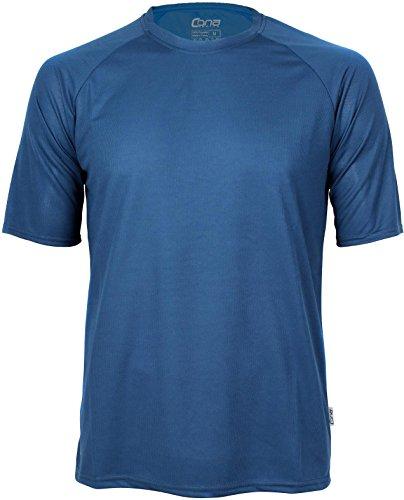 Basic Funktions - Sport T-Shirt in vielen Farben Farbe Navy Größe L