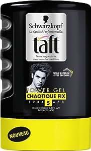 Taft - Gel Coiffant - Chaotique Fix - Flacon 300 ml