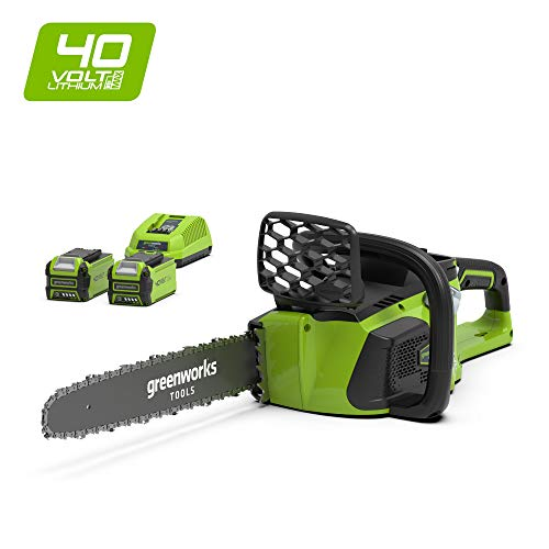 Greenworks - 40V Akku-Kettensäge mit Bürstenlosem Motor