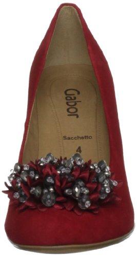 Gabor Shoes 5130017, Scarpe col tacco donna Rosso (Rouge-V.7)