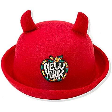 adorable Moda Invierno del bebé Gorro New York Cozy Caliente lana Cofia Capucha Tejido Caps de Punto Sombreros