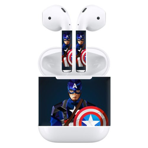 GADGETS WRAP Apple Airpods wireless earphone Skins Protective Wraps skin sticker – Cpt America
