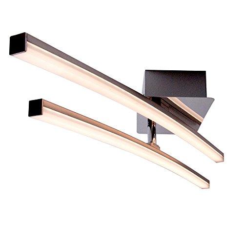 flur deckenleuchte LED 10 Watt Decken Lampe Strahler schwenkbar Beleuchtung Leuchten Direkt 11270-55