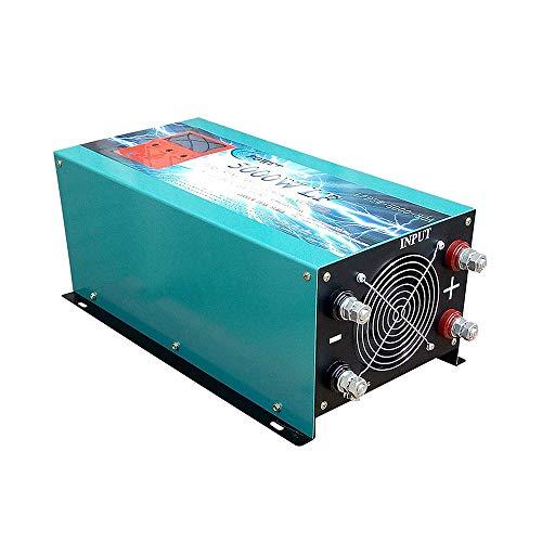 Wechselrichter Pura 5000 W 24 V auf 230 V LCD + Ladegerät für Klimaanlage