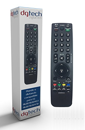 DigitalTech® - Mando sustitución televisores LG