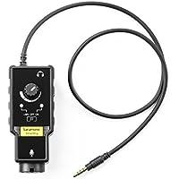 Adaptador de audio, Saramonic SmartRig II Profession adaptador de audio guitarra preamplificador micrófono para iPhone, iPad, Mac, PC y dispositivo Android