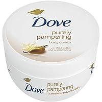 3 x Dove Crema Corpo / Body Lotion con 'burro di karité e vaniglia / ogni 300 ml