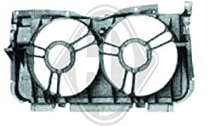support radiateur PEUGEOT 205, 83-96 2 ventilateurs, GTi+ Droit