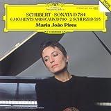 Sonata D 784 = Sonate pour piano en la mineur D 784, op. post 143. Moments musicaux D 780, op.94. 2 scherzi D 593 | Schubert, Franz (1797-1828)
