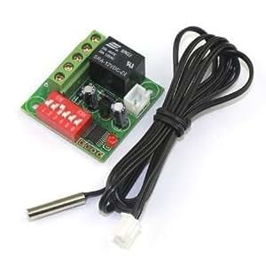 riorand 12V DC numérique thermostat chauffage/refroidissement 20–90°C Contrôleur de température Sonde avec 1Mètre Câble