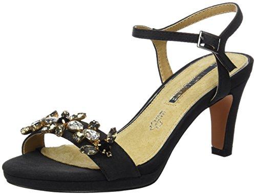 maria-mare-damen-lorenza-sandalen-mit-knochelriemen-schwarz-textil-suave-schwarz-38-eu