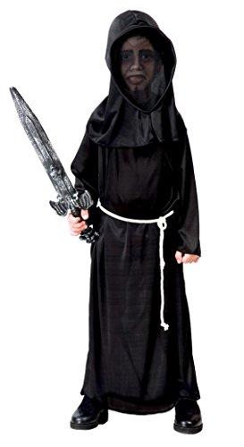 Robe Sensenmann Kostüm Kinder - Fiestas Guirca Kostüm schwarz Mann Kind