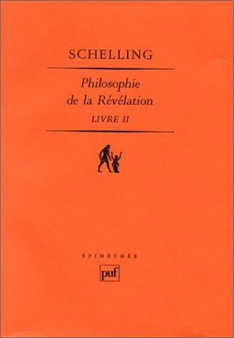 Philosophie de la révélation, tome II