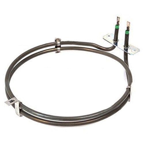spares2go 2TURN Heizung Element für die Magnet Fan Backofen/Herd (2000W) -