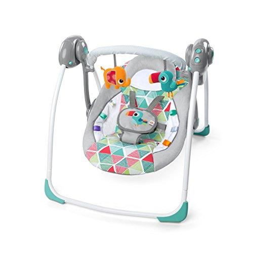 Bright Starts 10998 Toucan Tango tragbare Babyschaukel, grau