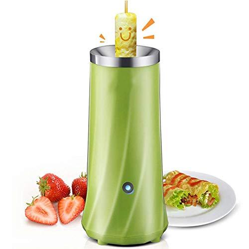 Automatique Oeuf Roll Maker en Acier Inoxydable Oeuf Tasse Multifonctionnel Mini Petit déjeuner Machine ustensiles de Cuisine,Green