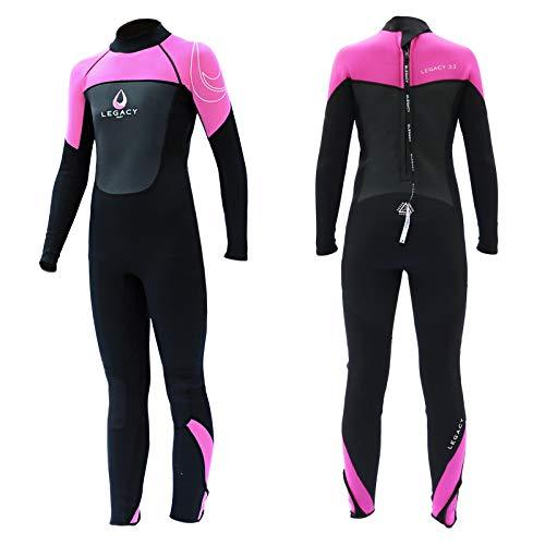 Legacy Surf Legacy Junior Neoprenanzug, 3/2 mm, volle Länge, Größe XL, Pink
