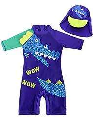 9249125b63b4 Trajes de natación y neoprenos para niño | Amazon.es