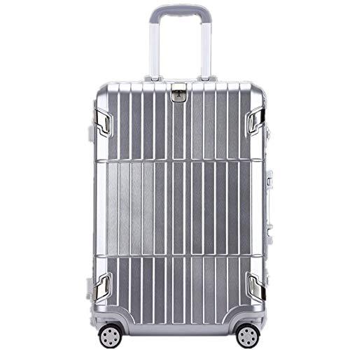 Business-Reisebox Aus Leder und Edelstahl
