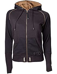 Meroncourt Zipped with Assassin's Logo, Capucha Para Mujer