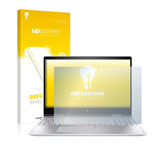 upscreen Matt Schutzfolie kompatibel mit HP Envy x360-15-bp108ng - Entspiegelt, Anti-Reflex, Anti-Fingerprint