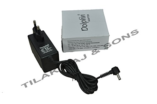 Dolphin D-6 AC Adaptor 9.5V Power Adaptor for Casio Keyboard  available at amazon for Rs.449