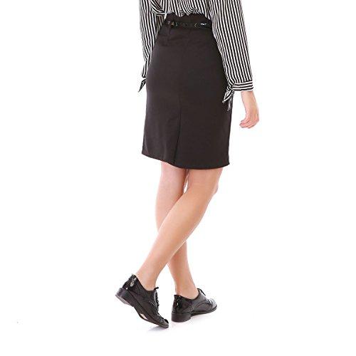La Modeuse - Jupe crayon femme Noir