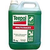 Teepol détergent multi usages, 5 L