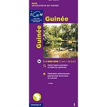 Carte routière : Guinée