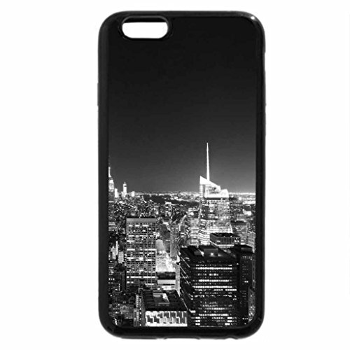 iPhone 6S Plus Case, iPhone 6 Plus Case (Black & White) - rock center view n y (Rock Center)
