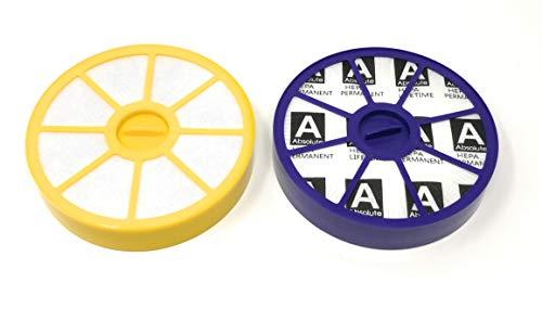 HEPA Allergie Filterset für Dyson Staubsauger DC05 DC08 DC08T DC08TW - HEPA FILTER SET enthält: Ersatz Dyson 907671-01, 905401-01, 902768-01 waschbarer Vor-motorfilter und Ersatz Dyson 900228-01 HEPA Nach-motorfilter -