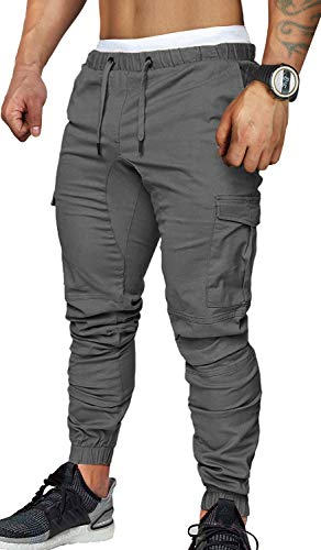 8c977a2527d1 CARETOO Jogger Cargo Men's Trousers Chino Jeans Fitness Sports Trekking  Stretch Free-Cycling Trousers Streetwear