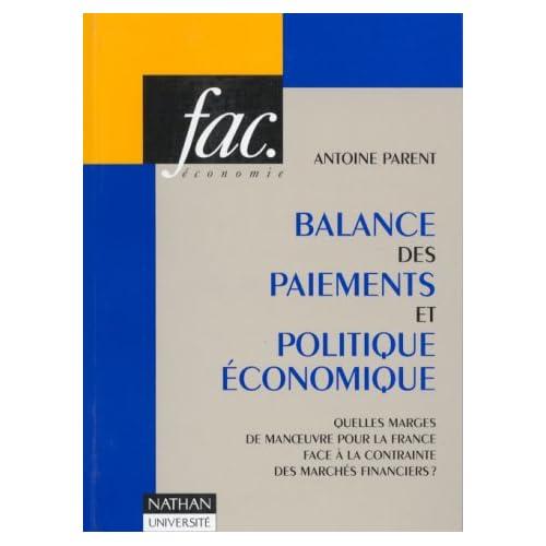 Balance des paiements et politique économique : Quelles marges de manoeuvre pour la France face à la contrainte des marchés financiers ?
