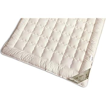 matratzenauflage bio kba kbt merino schurwolle unterbett auflage waschbar nadia gr e 180x200. Black Bedroom Furniture Sets. Home Design Ideas