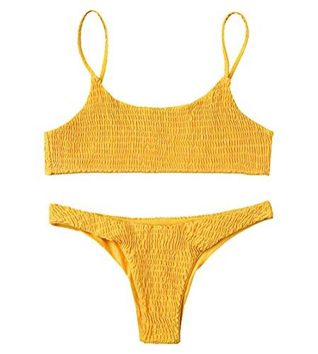 Unterwäsche & Schlafanzug 2019 Frauen Deutet Bh Set High Neck Sexy Bikini Brasilianischen Set Solide Biquinis Böhmen Sexy Bademode Bikinis Bade Badeanzug