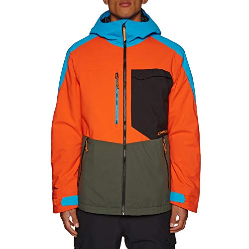 O'Neill Herren Snowboard Jacke Exile Jacket Bright orange, L