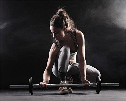 SK-YBB Benutzerdefinierte Wallpaper Fitness hanteln hintergrund wand 3d wallpaper für wände fitnessstudio Restaurant Wohnkultur papel de parede