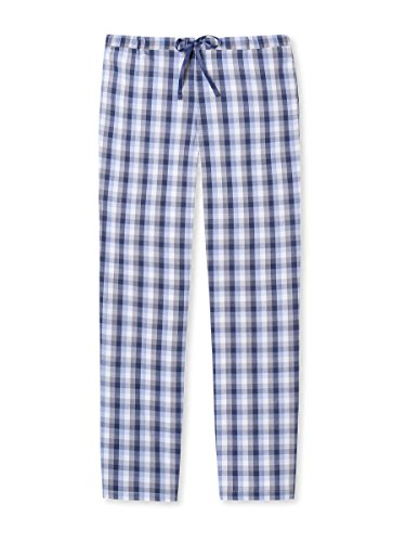 Schiesser Damen Schlafanzughose Web Hose Lang, Peached