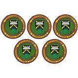 Gemelolandia | Pack de 5 Pins de Solapa Operación Balmis 2020 Operación Militar España 25 mm Broche Pin de traje Unidades Mil