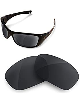 Sunglasses Restorer Lentes Polarizadas de Recambio Combo Black Iridium + Ice Blue para Oakley hijinx