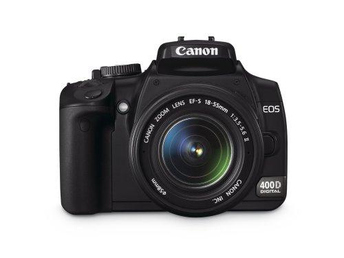 Canon EOS 400D SLR-Digitalkamera (10 Megapixel) inkl EF-S18-55 10,1 Mp Cmos-sensor