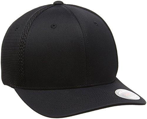 Flexfit Tactel Mesh Cappello da uomo, unisex, Mütze Flexfit Tactel Mesh, Black - black, L/XL