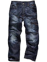Scruffs Trade Jeans de travail industriel en denim–Taille 30 Longueur 32