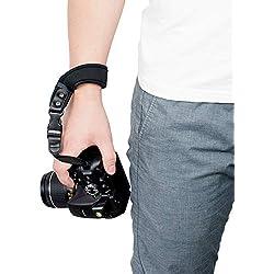 Sugelary Dragonne Appareil Photo Sangle pour Canon Nikon Sony Fujifilm Olympus Reflex DSLR